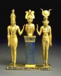 Horus, Isis y Osiris (click to zoom)